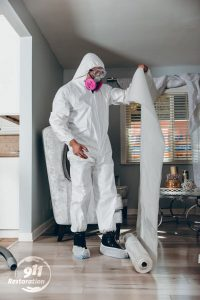 sanitization technician in home